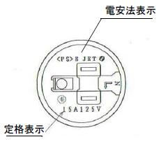電安法・定格表示