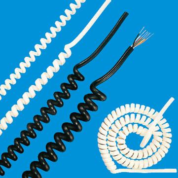 EC-VCTF カールコード・伸縮電線