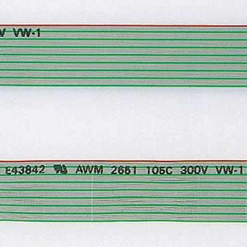 FLEX4.1-B( )-7/0.127 2651P 柔軟型1.0mmピッチブリッジ形オキフレックス