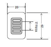 プラグ・アースクリップ付電源コード 15A(12A 10A可)125V2P