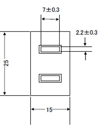 コードコネクタボディ 12A(15A可)125V2P